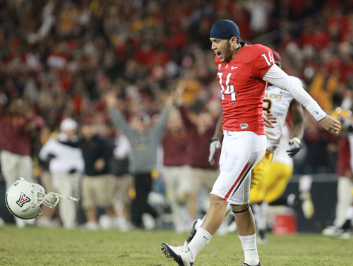 Two missed PATs haunt No. 23 Arizona in loss to rival ASU ...