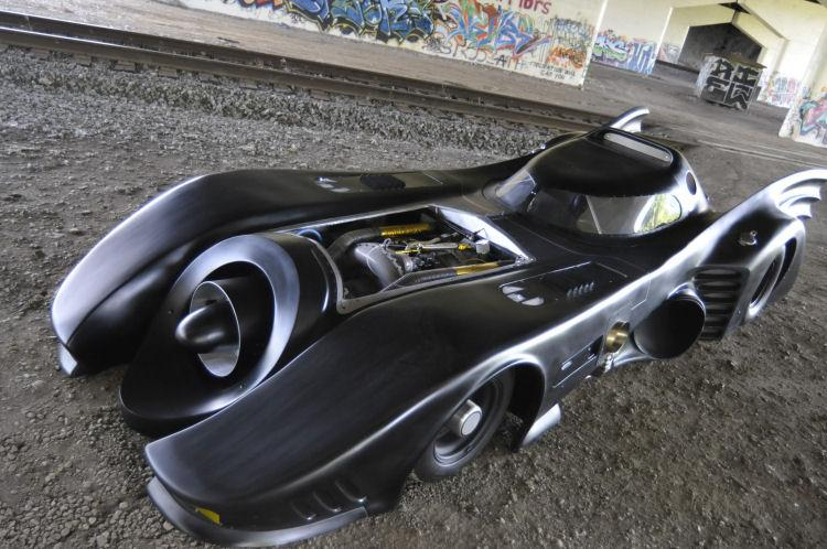 Ohio State Alumnus Builds Street Legal Batmobile