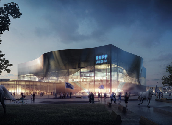 New Rupp Arena Design