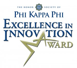 Phi Kappa Phi Names Semifinalists for Excellence in Innovation Award