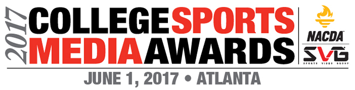 Entries Are Open for 9th Annual SVG/NACDA College Sports Media Awards