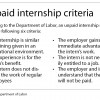 Rise of unpaid student internships sparks concerns