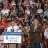 Mitt Romney campagins in Miami