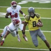 Oregon Ducks run past Fresno State in first half, face second half growing pains